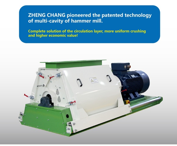 ZHENG CHANG Equipment | New Type Hammer Mill SFSP66 - Clinical issues