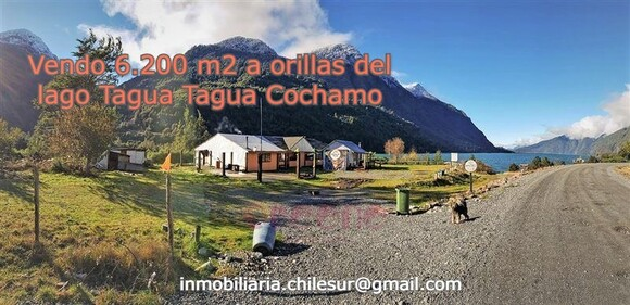 Vendo 6.200 m2 a orilla del Lago Tagua Tagua Cochamo - Mi actividad