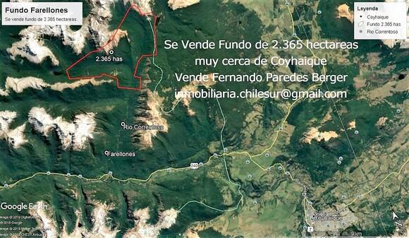 Vendo 2.365 hectareas en Aisen sur de Chile - Mi actividad