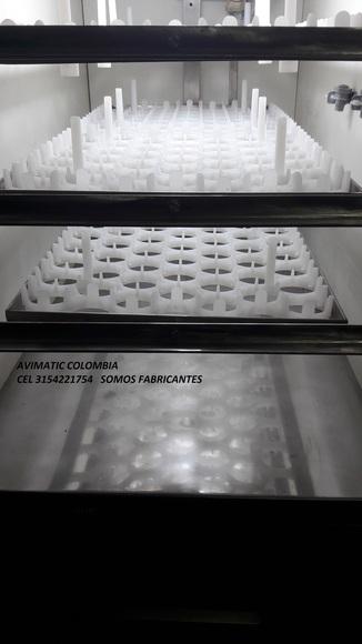 Nueva incubadora AVIMATIC modelo GRAPHICS-252 - Mi actividad