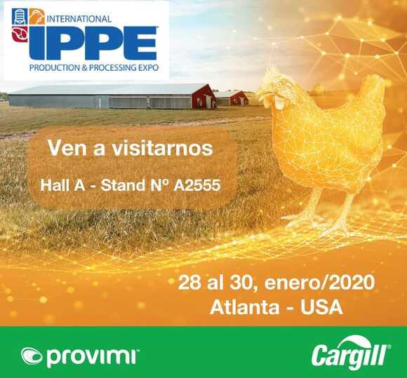 Provimi presente en IPPE 2020 - Eventos