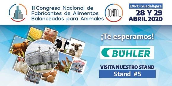 Bühler presente en el II Congreso Nacional de Fabricantes de Alimentos Blanceados para Animales. - Eventos