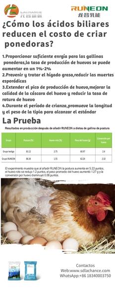 Los ácidos biliares reducen los costos de avicultura - Mi actividad