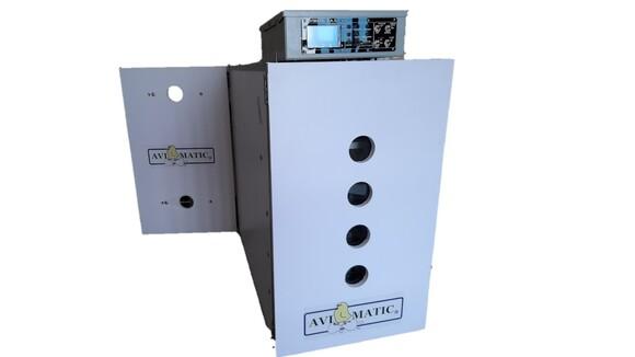 Incubadora de huevos automática - Modelo GRAPHICS-252