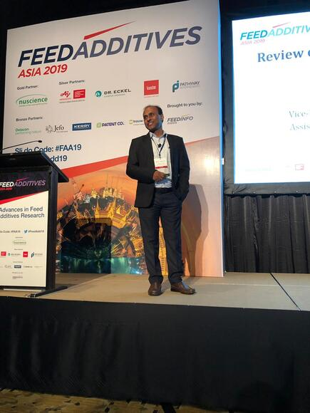 Feed Additive Asia lecture, Bangkok - My activity