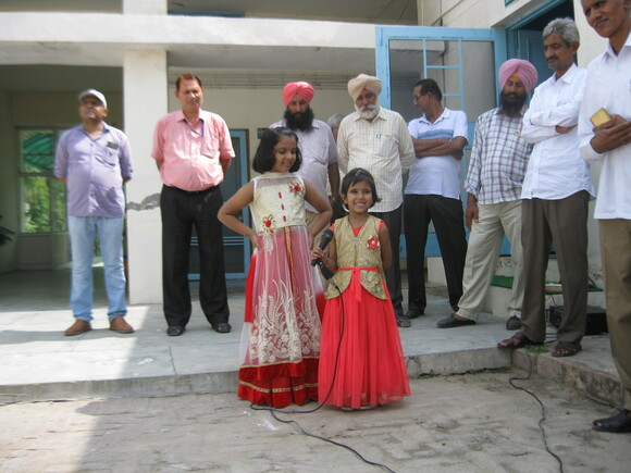 Children are performing on Independence Day Celebration - Independence Day Celebration