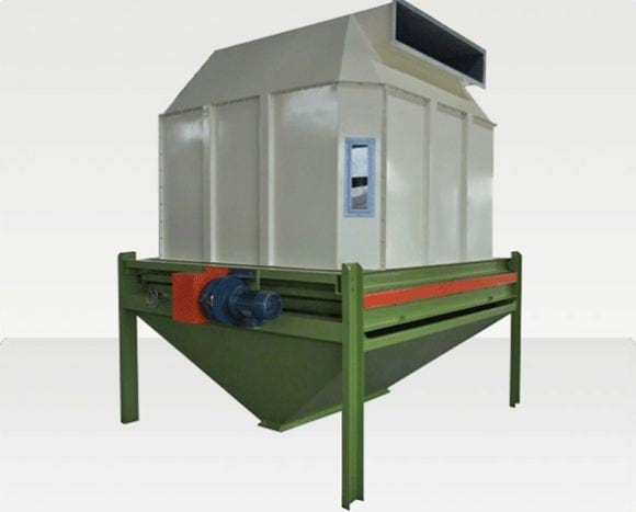 Counterflow Pellet Cooler - Feed Pellet Mill / Feed Pellet Machines