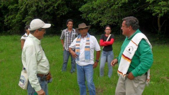 Con catedràticos de la Universidad del Tolima - CURSO EN COLOMBIA