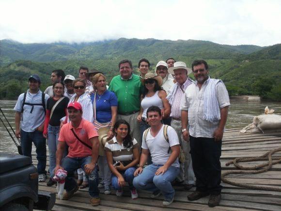 Rio Magdalena - CURSO EN COLOMBIA