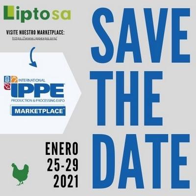LIPTOSA anuncia su participación en IPPE 2021 - Image 1