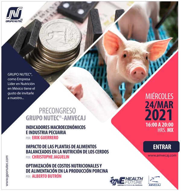 Precongreso GRUPO NUTEC® - AMVECAJ - Image 1