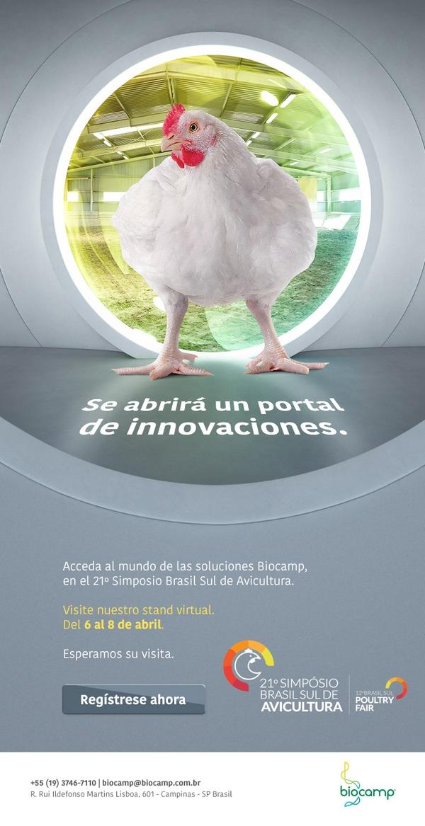 Biocamp presente en el 21º Simposio Brasil Sul de Avicultura - Image 1