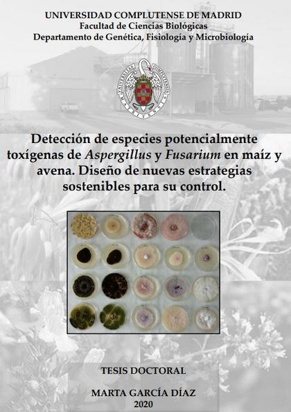 Aspergillus y Fusarium en maíz y avena. Nuevas estrategias sostenibles para su control - Image 2