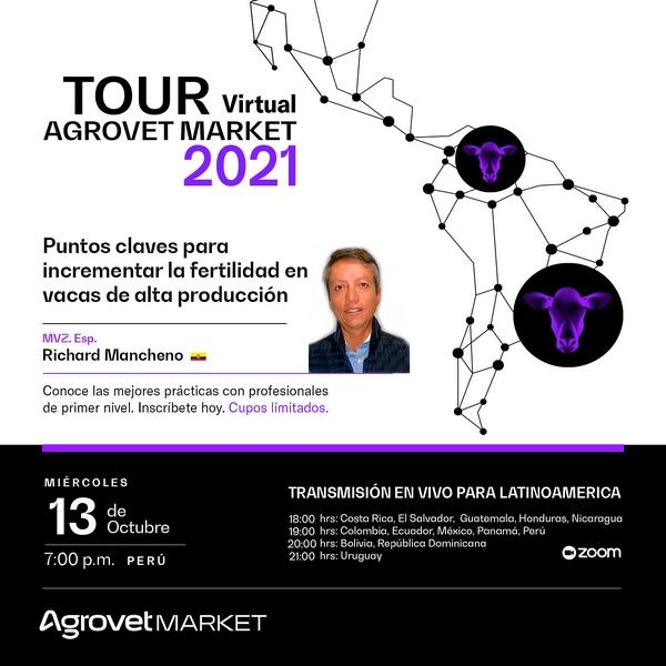 Puntos claves para incrementar la fertilidad en vacas de alta producción: Tour Virtual Agrovet Market - Image 1